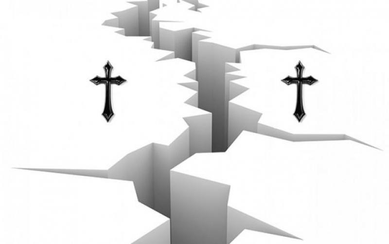 Cind au aflat crestinii ca se impart in catolici si ortodocsi?