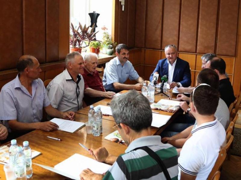 IGOR DODON A PREZIDAT SEDINTA PREZIDIULUI FEDERATIEI DE SAH DIN MOLDOVA