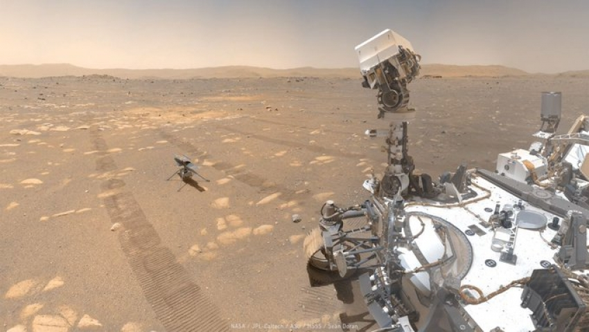 Primul zbor pe Marte al mini-elicopterului Ingenuity al NASA ar putea avea loc Luni