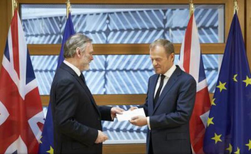 PRINCIPALELE PUNCTE ALE SCRISORII PRIN CARE MAREA BRITANIE A NOTIFICAT OFICIAL UE DESPRE DECLANSAREA BREXIT-ULUI