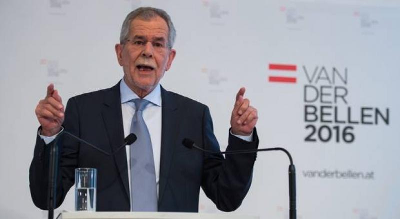 AUSTRIA: VAN DER BELLEN A CISTIGAT ALEGERILE PREZIDENTIALE