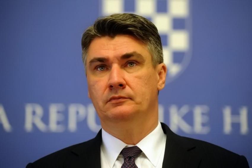 MESAJ DE FELICITARE ADRESAT DOMNULUI ZORAN MILANOVIC, PRESEDINTELE ALES AL REPUBLICII CROATIA