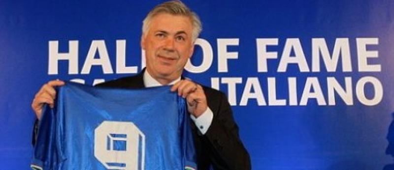 CARLO ANCELOTTI, IN HALL OF FAME-UL FOTBALULUI ITALIAN
