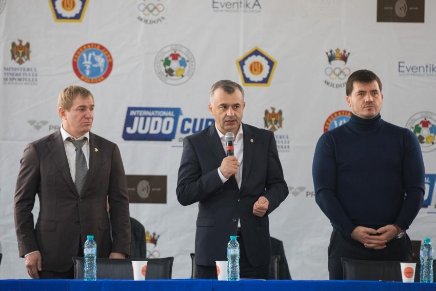 ION CHICU A PARTICIPAT LA DESCHIDEREA CAMPIONATULUI REPUBLICII MOLDOVA DE JUDO