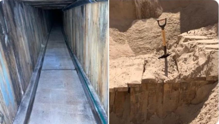 A fost descoperit cel mai sofisticat tunel folosit de imigranti la granita SUA-Mexic