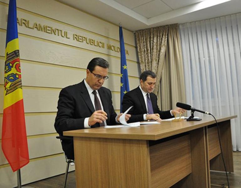 ACORDUL PRIVIND CONSTITUIREA ALIANTEI PENTRU MOLDOVA EUROPEANA A FOST FACUT PUBLIC
