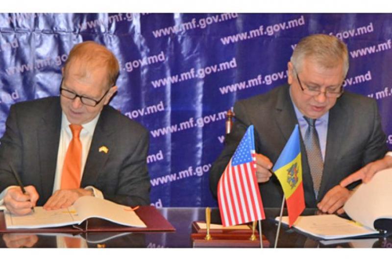 R. MOLDOVA ŞI SUA AU SEMNAT UN ACORD PRIVIND SCHIMBUL RECIPROC DE INFORMAŢII FISCALE