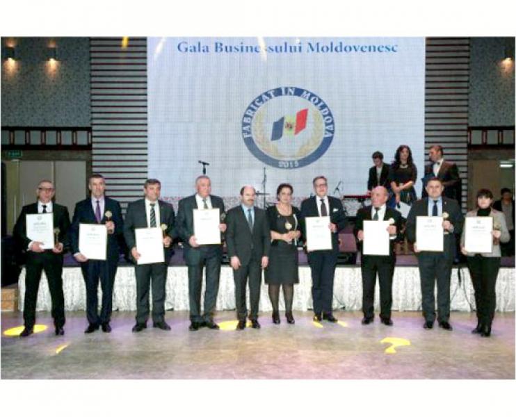 CELE MAI PERFORMANTE INTREPRINDERI AU FOST PREMIATE IN CADRUL GALEI BUSINESSULUI MOLDOVENESC
