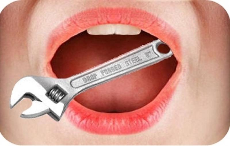 gust de metal în pierderea în greutate a gurii)