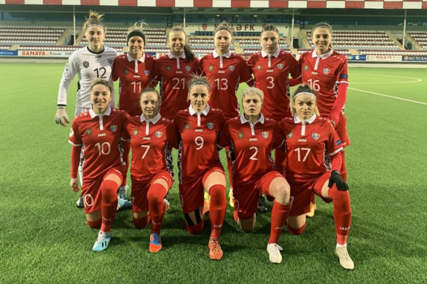 NATIONALA FEMININA A PIERDUT MECIUL CU AZERBAIDJAN