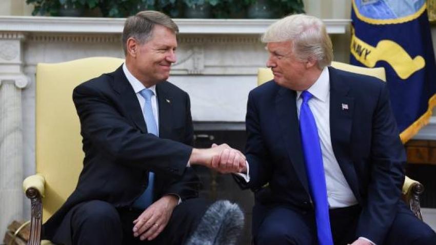 Donald Trump il va primi pe Klaus Iohannis la Casa Alba, pe 20 August