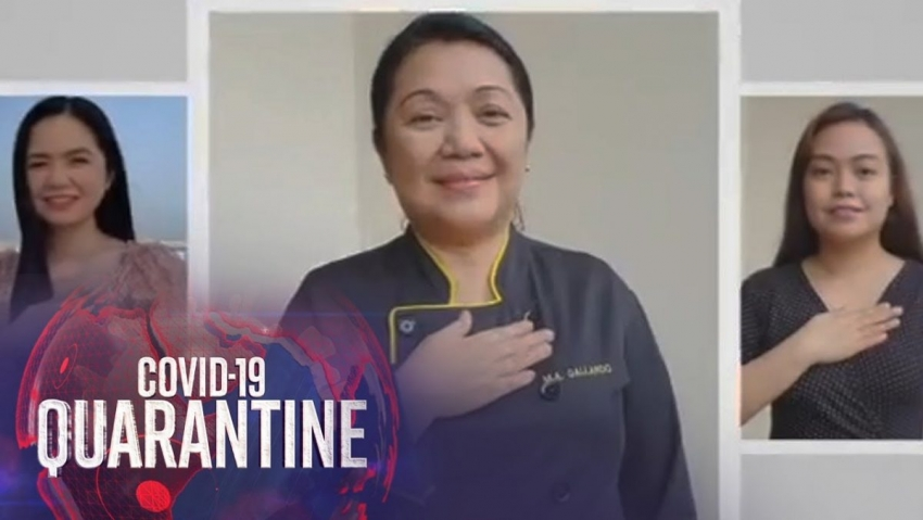 Filipinezii ar putea sa fie obligati prin lege la un salut anticovid