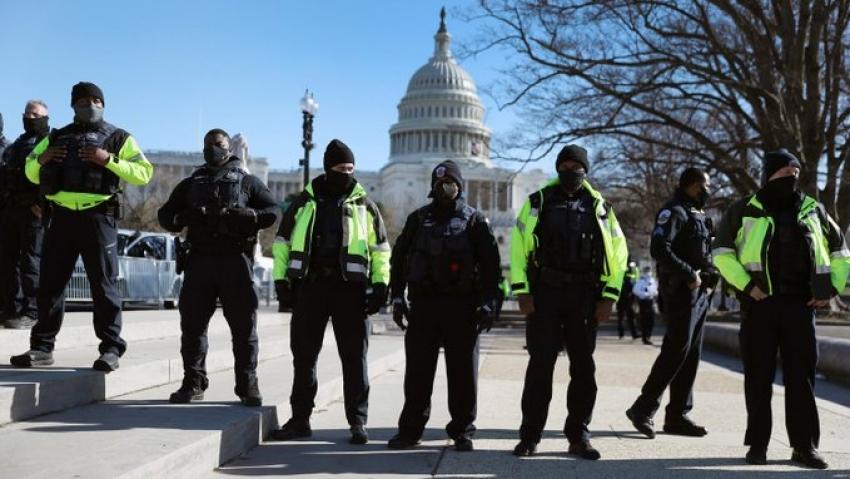 Masuri de securitate sporite la Capitoliu in asteptarea primului discurs al lui Joe Biden in Congres