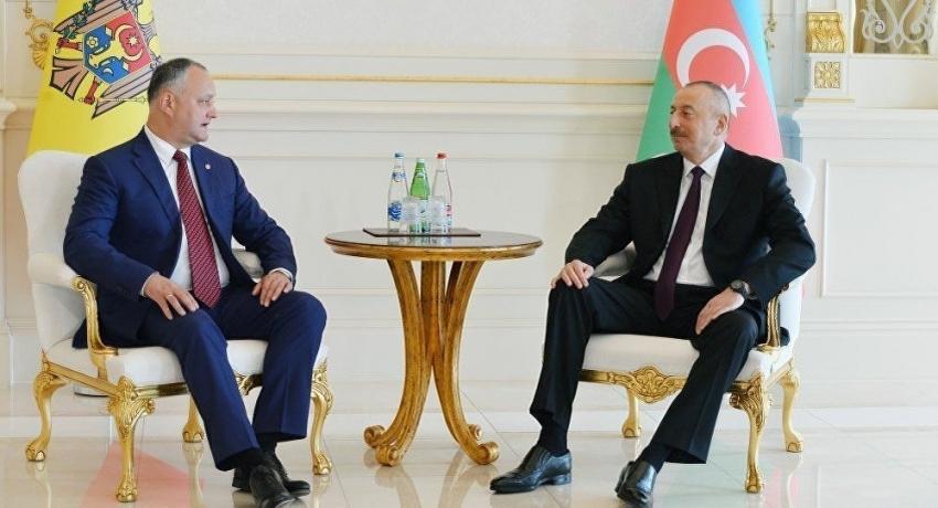 PRESEDINTELE IGOR DODON A ADRESAT UN MESAJ DE FELICITAREPRESEDINTELUI REPUBLICII AZERBAIDJAN, ILHAM HEYDAR OGLU ALIYEV