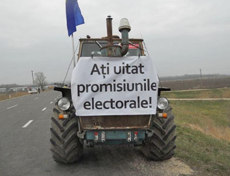 ASOCIATII ALE PRODUCATORILOR AGRICOLI AU ANUNTAT CA VOR RELUA PROTESTELE