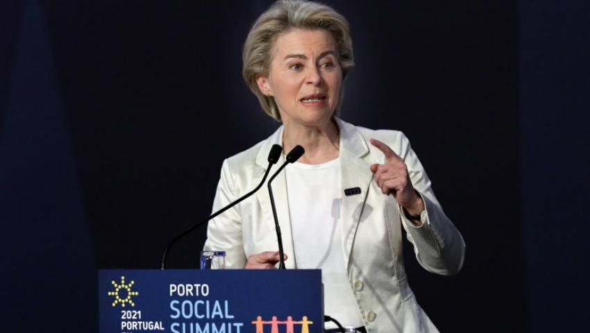 Summitul social din Portugalia. Ursula von der Leyen: Toti cei care lucreaza trebuie sa primeasca un salariu decent