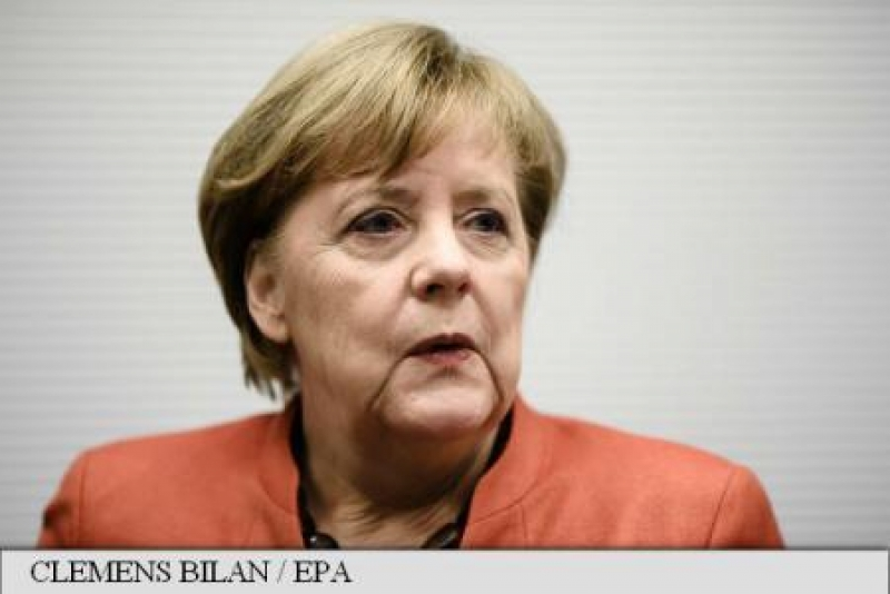 CANCELARUL GERMAN ANGELA MERKEL AFIRMA CA PREFERA ALEGERILE ANTICIPATE IN LOCUL UNUI GUVERN MINORITAR