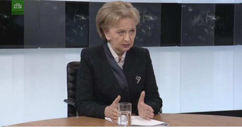 ZINAIDA GRECEANII: MOLDOVA A DEPASIT MAI MULTE SITUATII DE CRIZA, VA TRECE SI PESTE ACEASTA