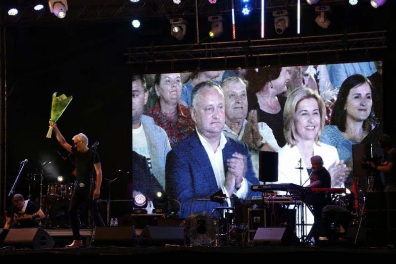 IGOR DODON, PRESEDINTELE R. MOLDOVA A PARTICIPAT LA FESTIVITATILE PRILEJUITE DE ZIUA CREARII GAGAUZIEI SI HRAMUL ORASULUI COMRAT
