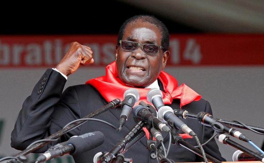 Zeci de mii de persoane la o ceremonie memoriala in onoarea fostului Presedinte al Zimbabwe Mugabe
