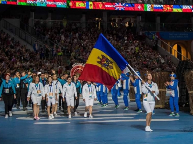 IGOR DODON A URAT SUCCES ECHIPEI NATIONALE OLIMPICE A REPUBLICII MOLDOVA LA JOCURILE EUROPENE DE LA MINSK