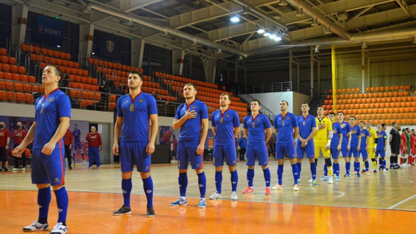 NATIONALA DE FUTSAL A CEDAT SI ACASA IN FATA AZERBAIDJANULUI