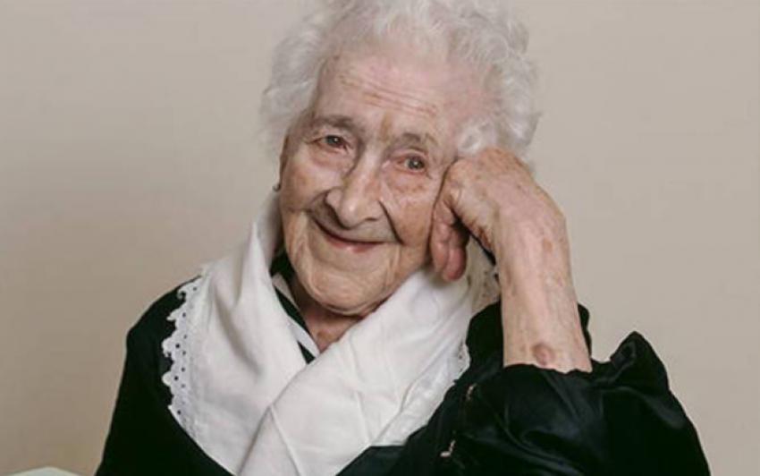 Cea mai virstnica persoana care a trait pe Pamint: Jeanne Calment – 122 de ani si 164 de zile