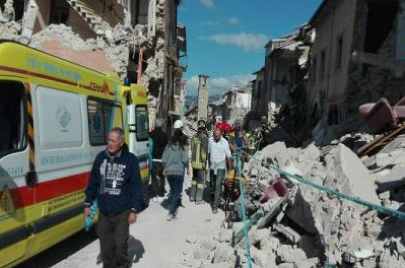 CUTREMURUL DIN ITALIA: 247 DE MORTI, POTRIVIT UNUI NOU BILANT AL PROTECTIEI CIVILE
