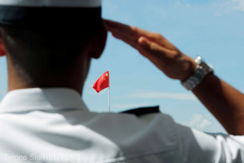 China a construit cea mai mare forta navala din lume, depasind SUA