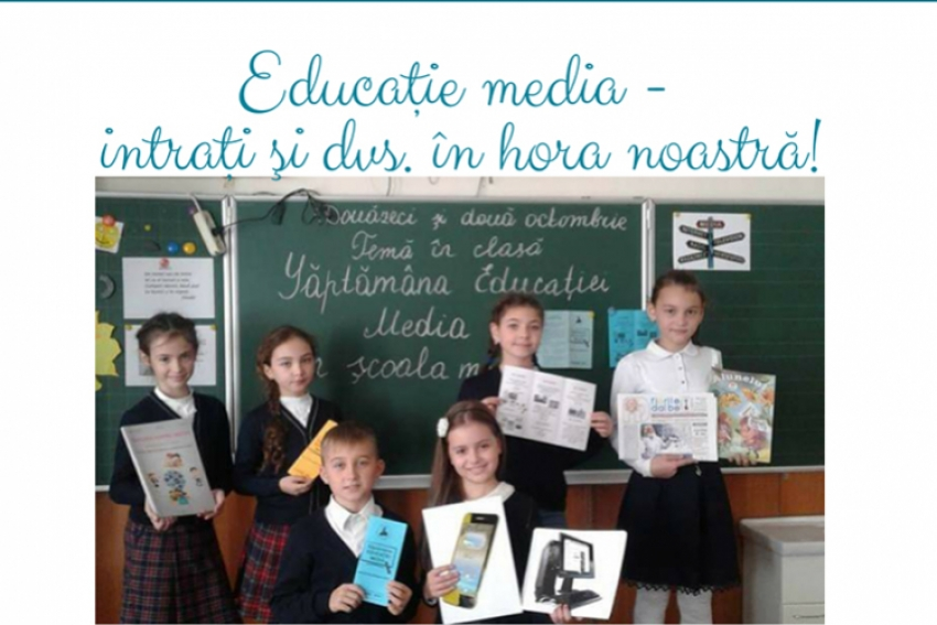 INCEPE SAPTAMINA EDUCATIEI MEDIA IN MOLDOVA, EDITIA 2020