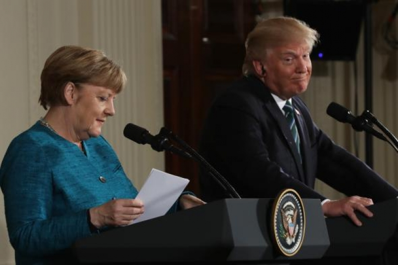 Noile relatii americano-germane incep de la bani?