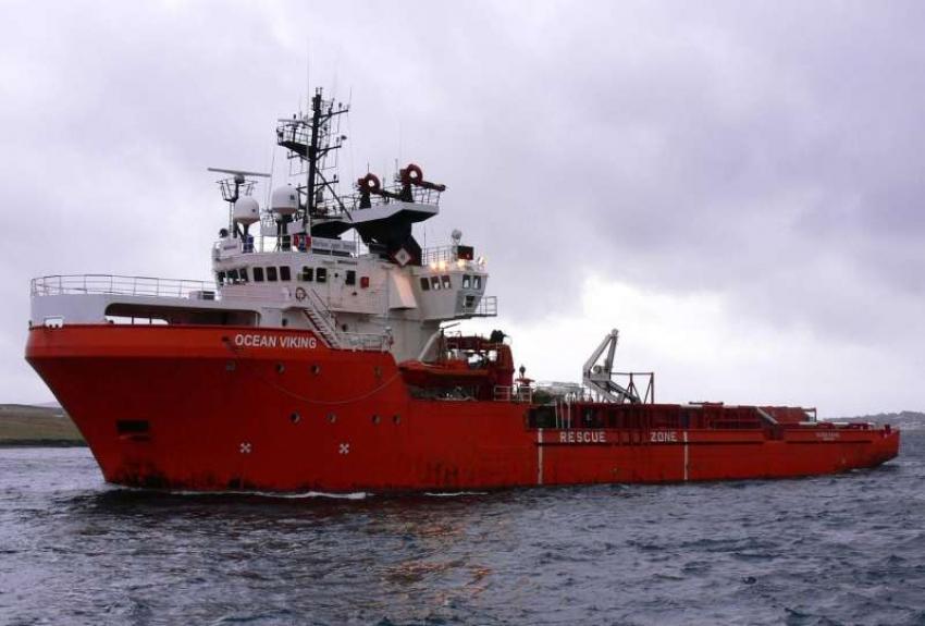 251 de migranti salvati de nava Ocean Viking in largul apelor libiene