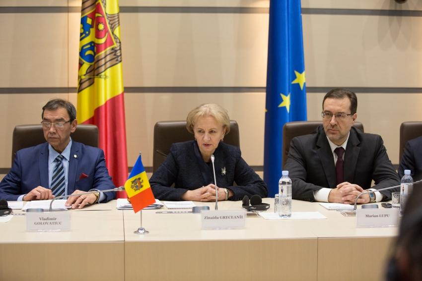 ZINAIDA GRECEANII S-A INTILNIT CU OFICIALI AI CURTII EUROPENE DE AUDIT SI INSTITUTIILOR DE AUDIT SUPREME DIN MAI MULTE STATE