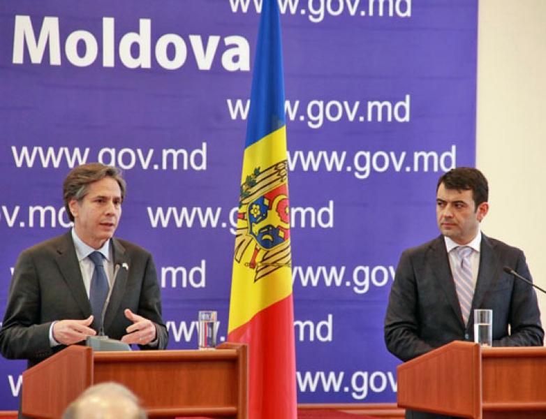 SECRETARUL ADJUNCT DE STAT ANTONY BLINKEN: SUA VOR SUSTINE IN CONTINUARE REFORMELE DIN R. MOLDOVA