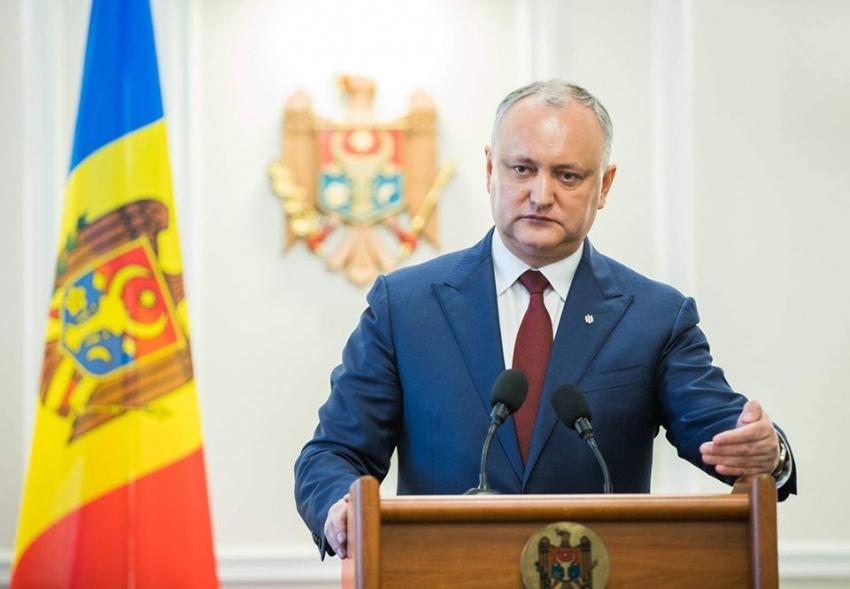 IGOR DODON: MOLDOVA VA AVEA SI GAZE, SI ENERGIE ELECTRICA DE LA 1 IANUARIE 2020