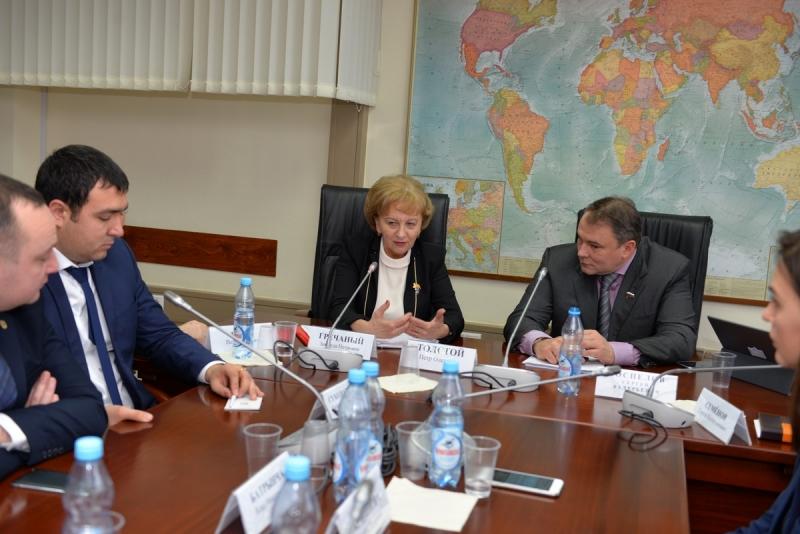 LA MOSCOVA A AVUT LOC SEDINTA GRUPULUI INTERPARLAMENTAR DE PRIETENIE MOLDOVA-RUSIA