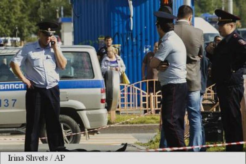 GRUPAREA JIHADISTA STATUL ISLAMIC REVENDICA ATACUL CU CUTIT DIN RUSIA