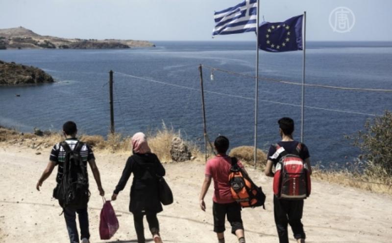 NUMARUL DE MIGRANTI VENITI IN GRECIA A SCAZUT PUTERNIC