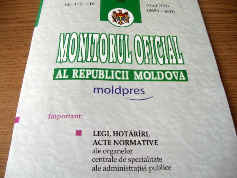 LEGEA CARE PREVEDE POSIBILITATEA PRELUNGIRII MORATORIULUI IN CAZUL BANCILOR COMERCIALE A FOST PUBLICATA IN MONITORUL OFICIAL