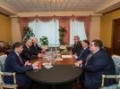 PRESEDINTELE R. MOLDOVA A AVUT O INTREVEDERE CU VICE-PRIM-MINISTRUL FEDERATIEI RUSE