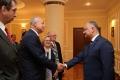 PRESEDINTELE R. MOLDOVA S-A INTILNIT CU O DELEGATIE A OFICIALILOR DE RANG INALT DIN AUSTRIA