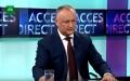PRESEDINTELE R. MOLDOVA: IN TOAMNA SOCIALISTII VOR ORGANIZA PROTESTE