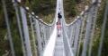 VIDEO | Cum arata cel mai lung pod pietonal suspendat din lume