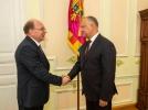 PRESEDINTELE R. MOLDOVA A AVUT O INTREVEDERE CU NOUL AMBASADOR AL FEDERATIEI RUSE IN TARA NOASTRA