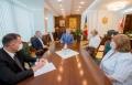 IGOR DODON A AVUT O INTREVEDERE CU REPREZENTANTII CONGRESULUI AZERILOR SI COMUNITATII ARMENILOR DIN MOLDOVA