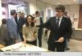 REFERENDUM IN CATALONIA: LIDERUL SEPARATIST A VOTAT, IN CIUDA MASURILOR POLITIEI