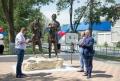 SEFUL STATULUI A PARTICIPAT LA INAUGURAREA MONUMENTULUI IN CINSTEA TARULUI RUS PETRU I SI DOMNITORULUI MOLDOVEAN DIMITRIE CANTEMIR