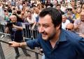 Mii de italieni s-au adunat Simbata la Roma pentru a sarbatori primele sase luni de guvernare ale formatiunii Liga