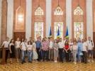 """REPREZENTANTII ORGANIZATIEI OBSTESTI """"TINERII IUBESC MOLDOVA"""" AU VIZITAT SEDIUL PRESEDINTIEI"""