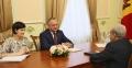 PRESEDINTELE TARII A AVUT O INTREVEDERE CU AMBASADORUL ARMENIEI IN R. MOLDOVA